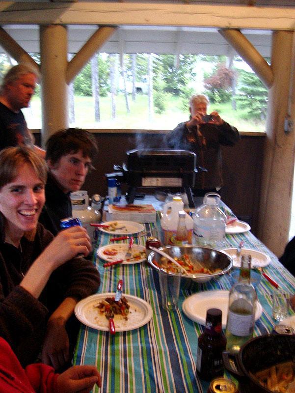 breakfast in Banff