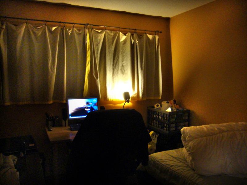 Mark's cosy room