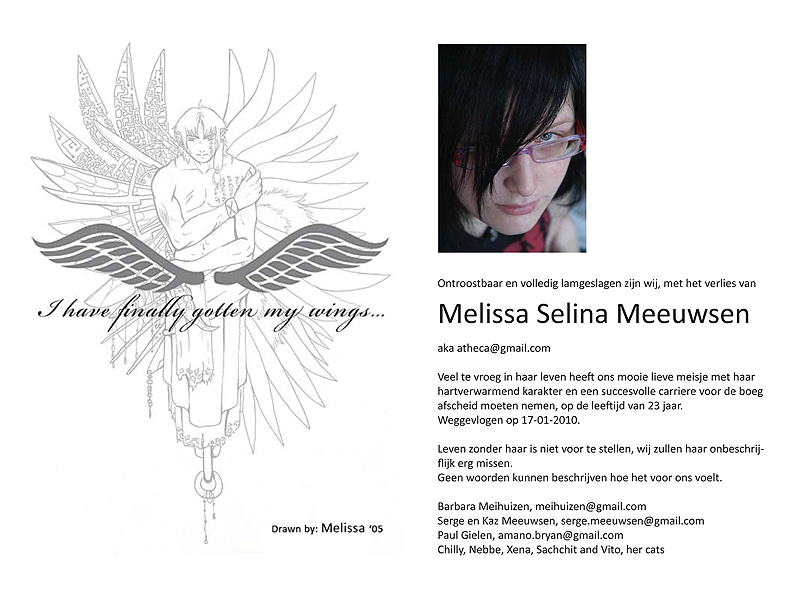 card for Melissa