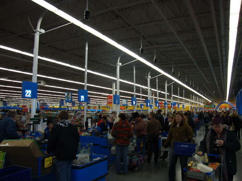 huge Walmart Supercentre