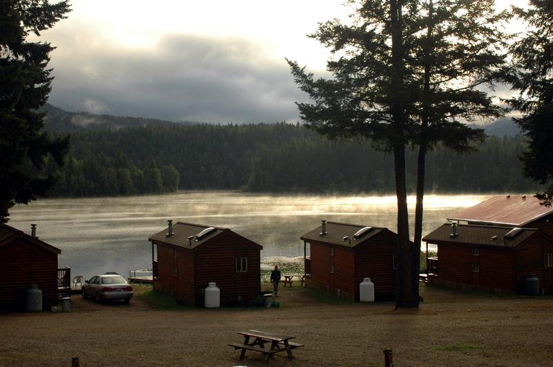 Dutch Lake in the morning