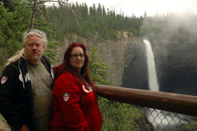 Helmcken Falls in Wells Gray provincial park