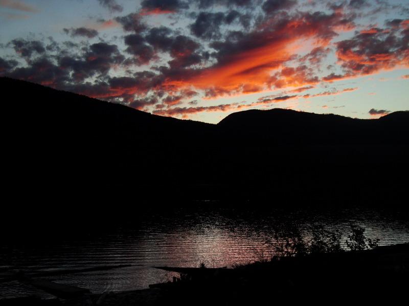 Nakusp sunset