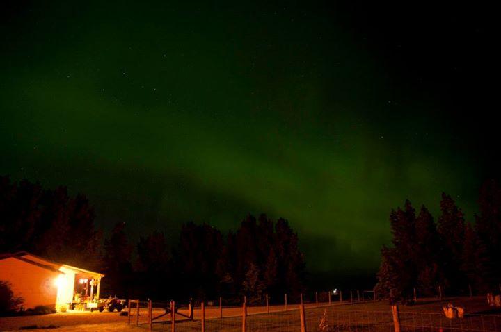 Aurora near Glenbain