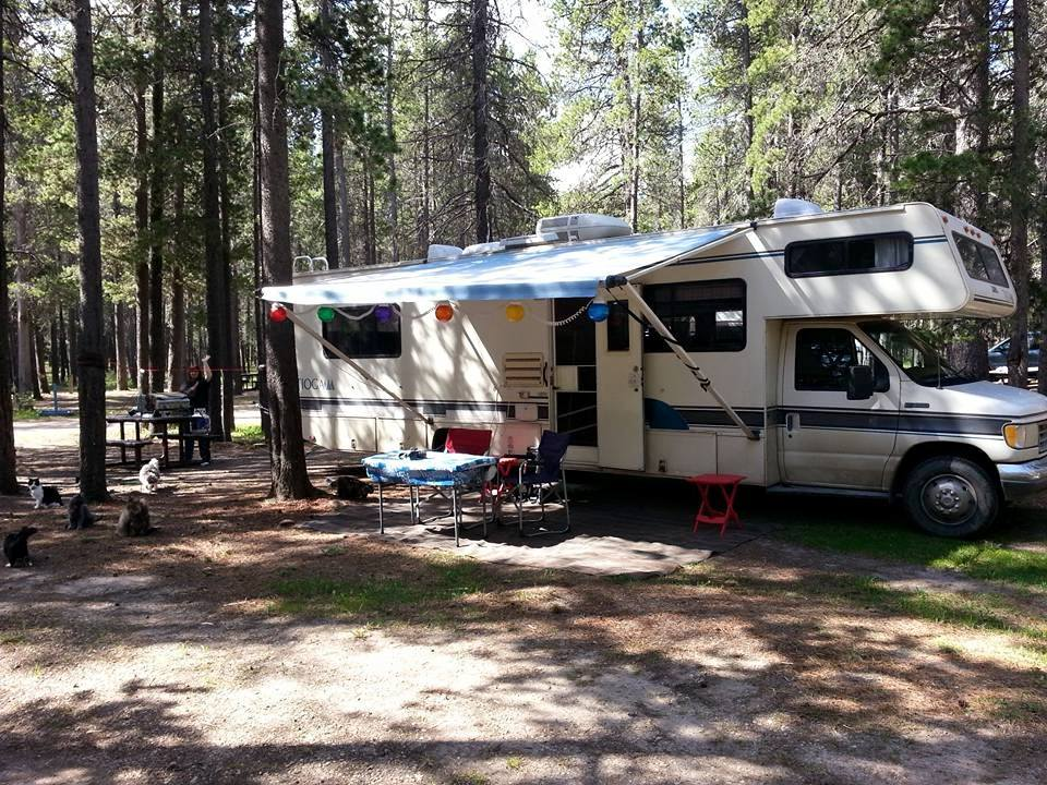 Cypress Hills, Rainbow campground, 2015